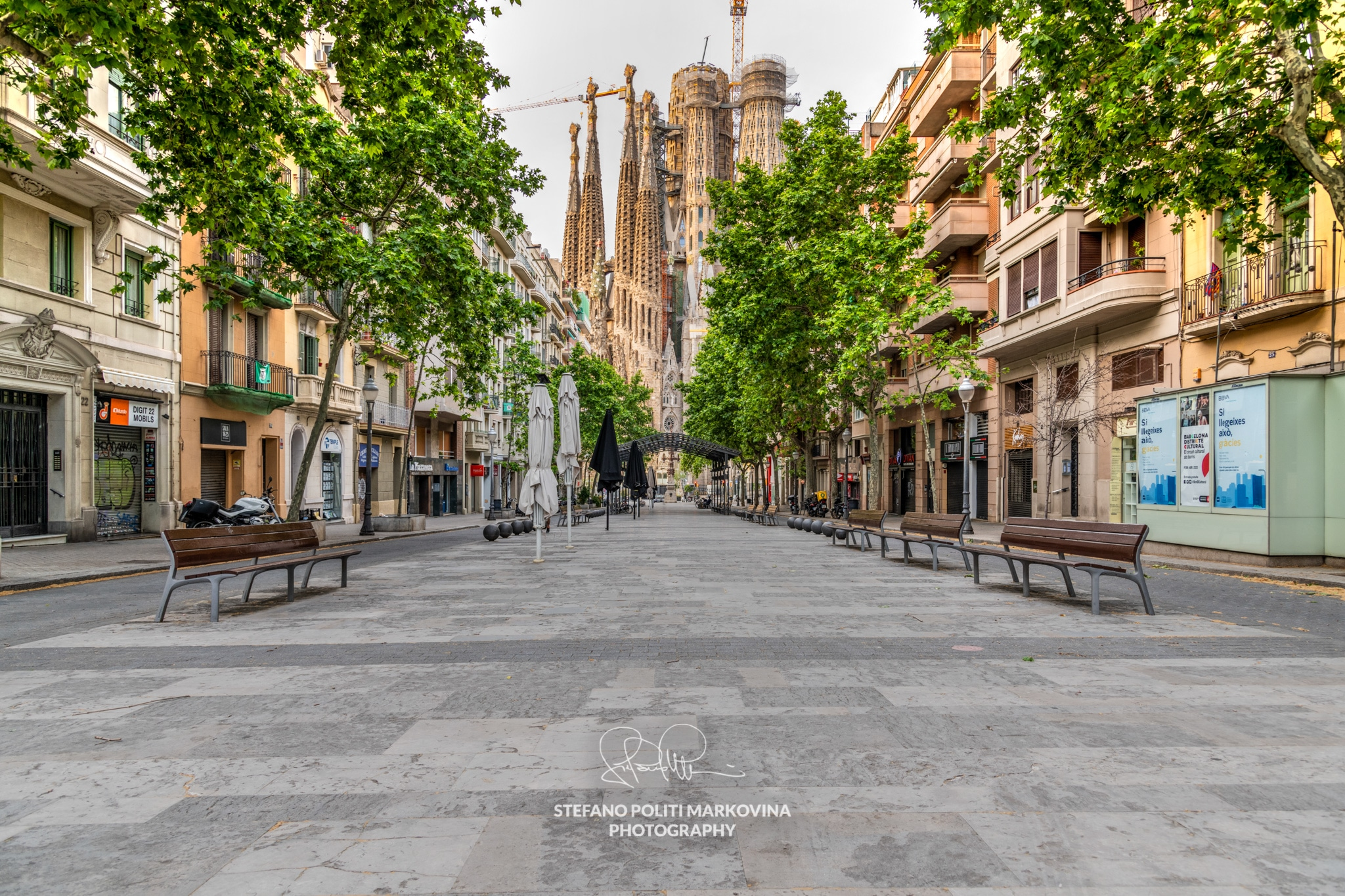 Barcelona in times of covid