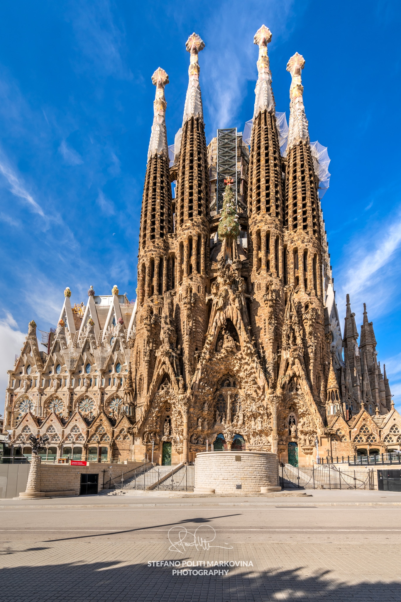 Sagrada Familia basilica church