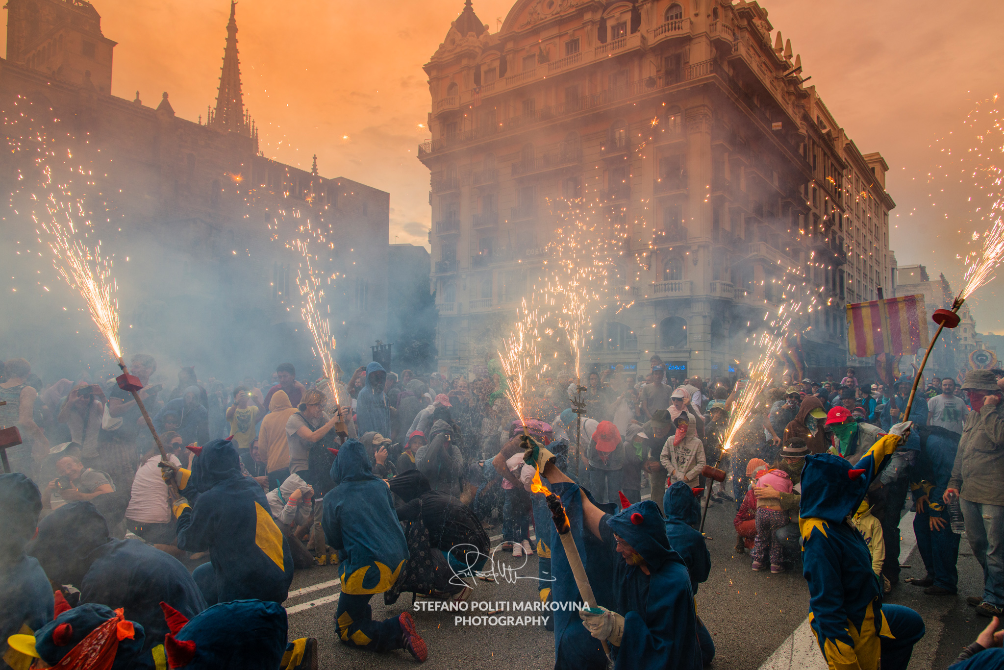 photographing festivals in barcelona