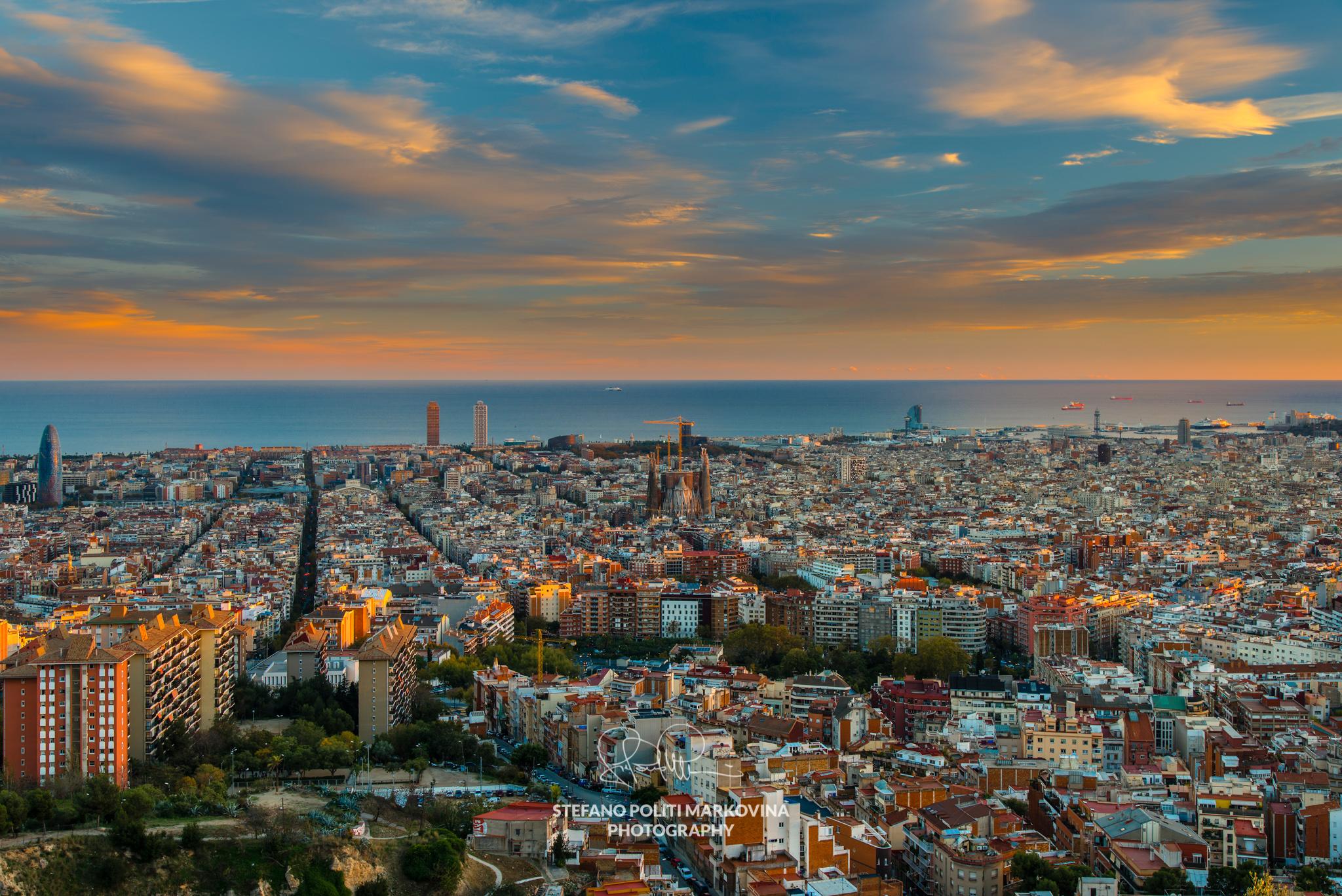 Best top views in Barcelona