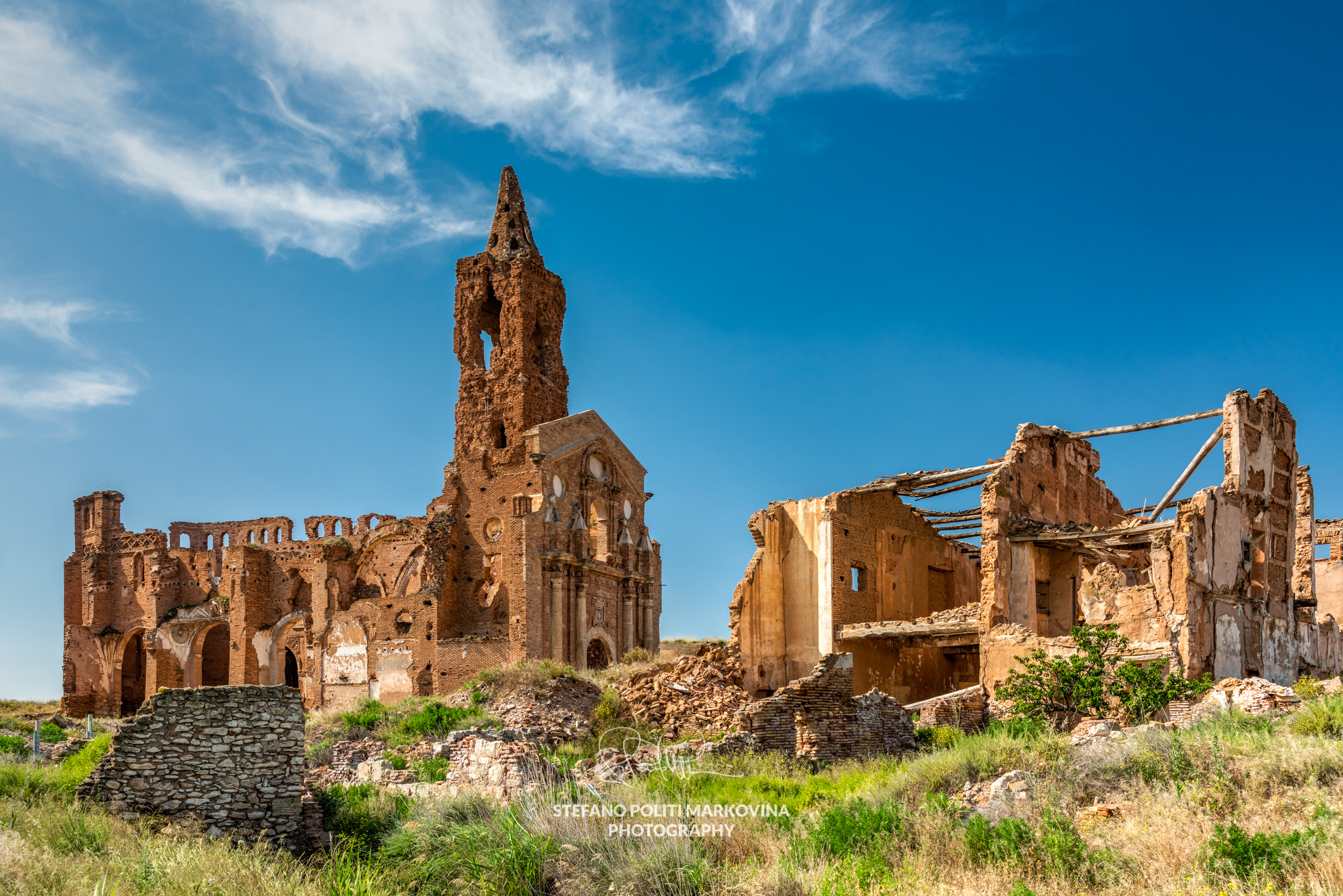 Belchite, Aragon, Spain