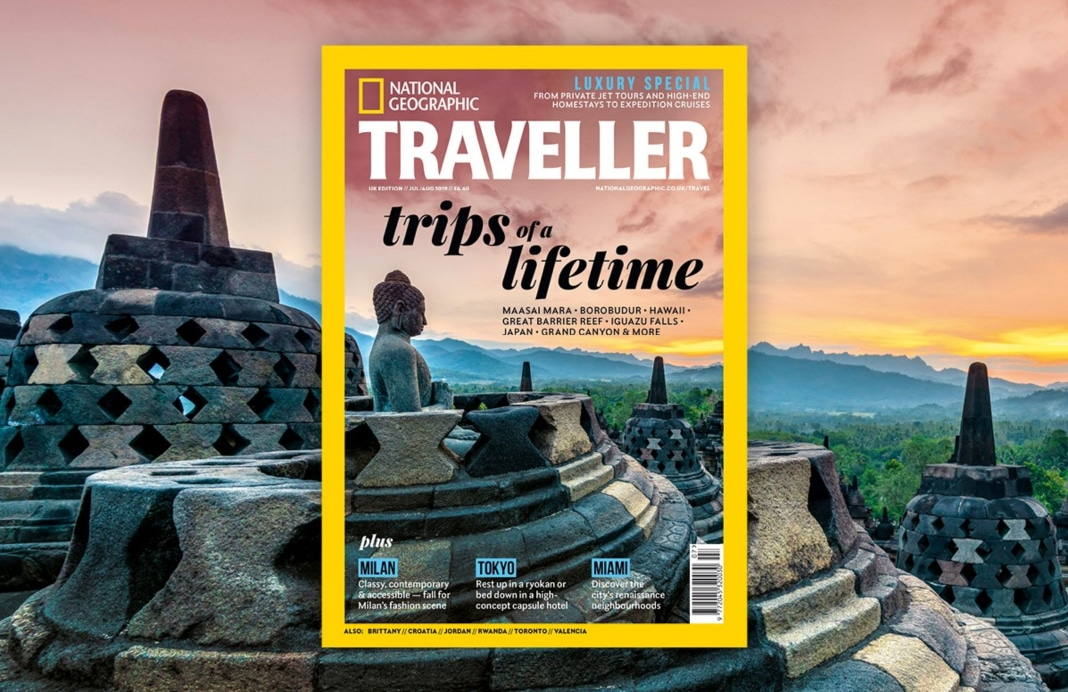 My photo on National Geographic Traveller magazine