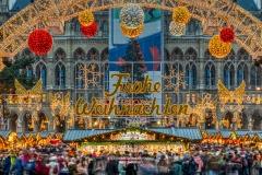 Rathaus Christmas Market, Vienna, Austria