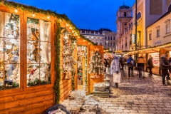 Freyung Christmas Market, Vienna, Austria