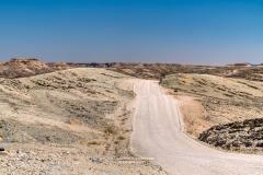 Dirt road, Kuiseb Pass, Erongo, Namibia
