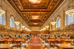 Rose Main Reading Room, New York Public Library, New York, USA