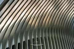 Ribs of Oculus station, World Trade Center station (PATH), New York, USA