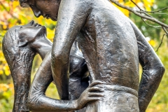 Romeo and Juliet sculpture, Central Park, New York, USA