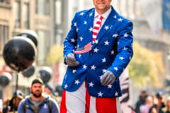 Uncle Sam, Veterans Day Parade, Fifth Avenue, New York, US