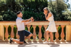 Surprise proposal photo shoot in Barcelona