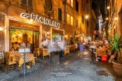 Dining in Rome, Lazio, Italy