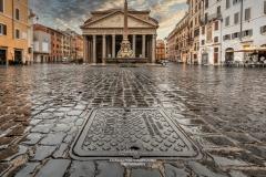 Pantheon square, Rome, Lazio, Italy