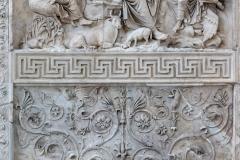 Ara Pacis Altar of Augustan Peace, Museum of Ara Pacis, Rome, Lazio, Italy