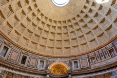 Interior of Pantheon, Rome, Lazio, Italy