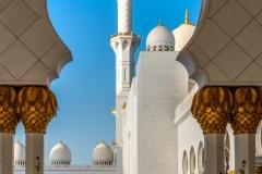 Sheikh Zayed Mosque Abu Dhabi, United Arab Emirates
