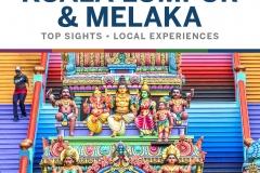 Pocket Kuala Lumpur and Melaka, Lonely Planet, 2020
