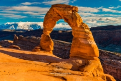 The Delicate Arch, Arches National Park, Utah, USA