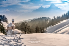 Maria Gern church, Berchtesgaden, Bavaria, Germany