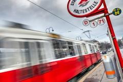Tram, Ringstrasse, Vienna, Austria