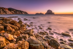 Cala d'Hort beach, Ibiza, Balearic Islands, Spain
