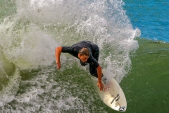 Surfer in Durban, South Africa
