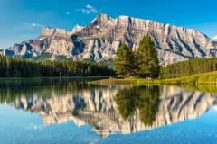 Two Jake Lake, Banff National Park, Alberta, Canada
