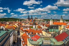 Old town skyline, Prague, Bohemia, Czechia