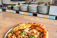 Pizza parmigiana, Naples, Campania, Italy