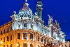 Central Post Office building, Valencia, Spain