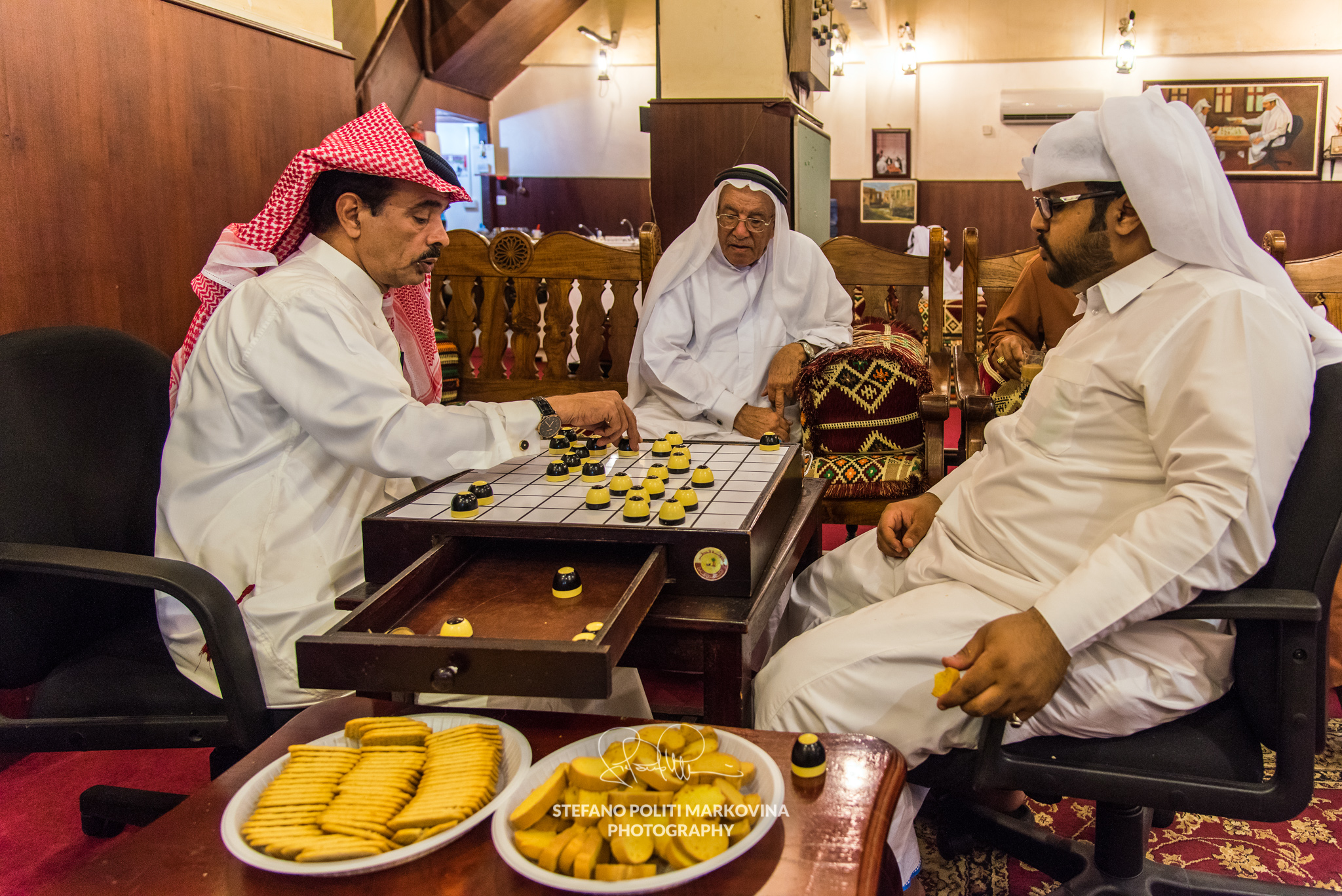Playing aldama in Doha