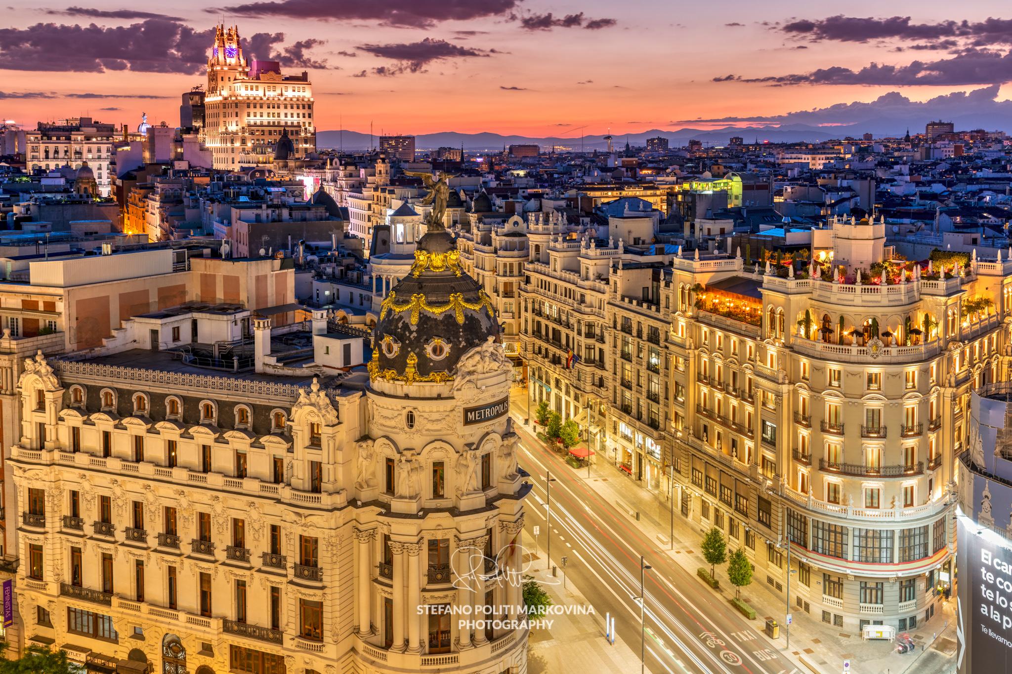 Shooting in Madrid