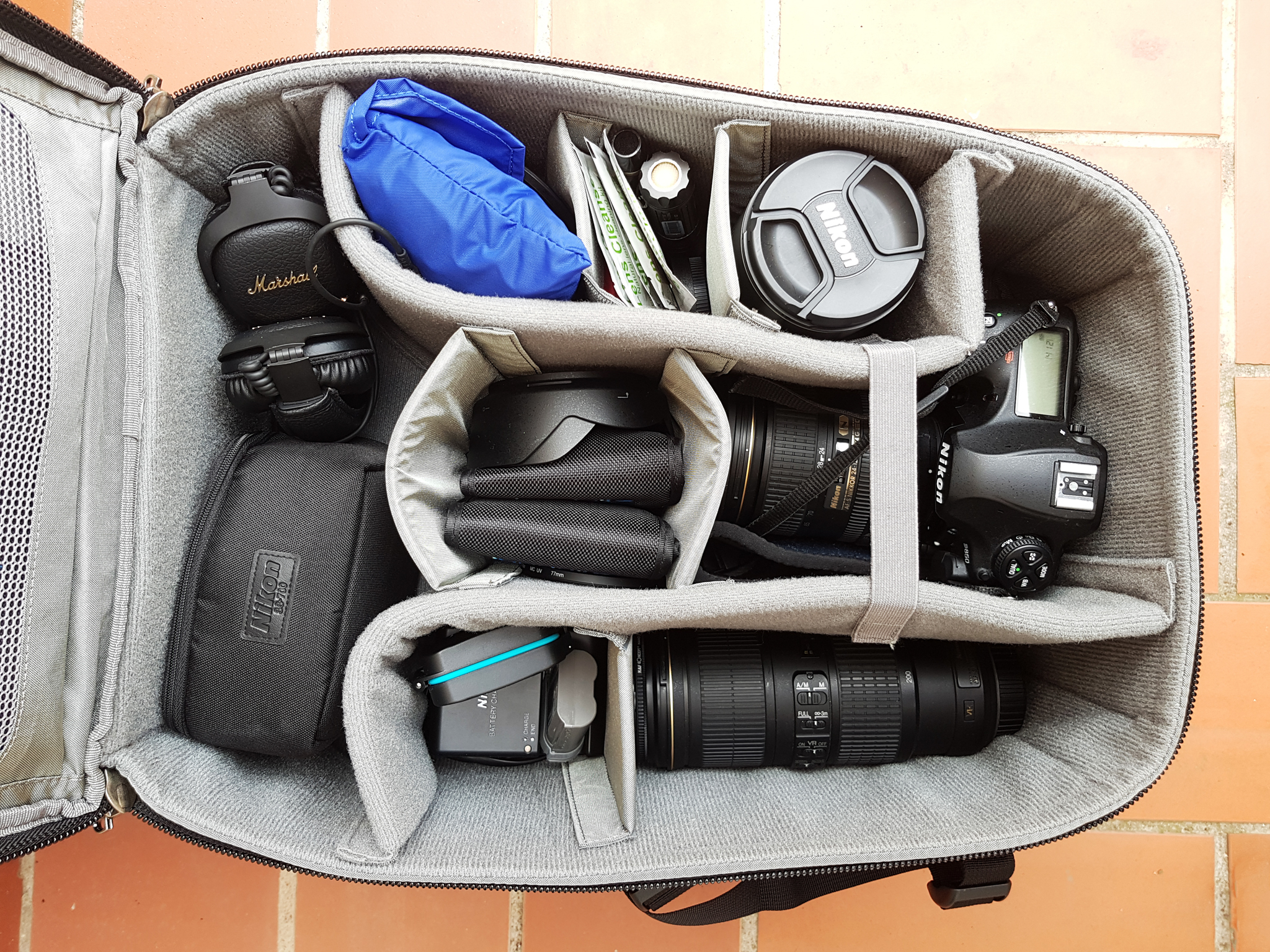 My reviews: Think Tank Photo Airport Commuter camera backpack