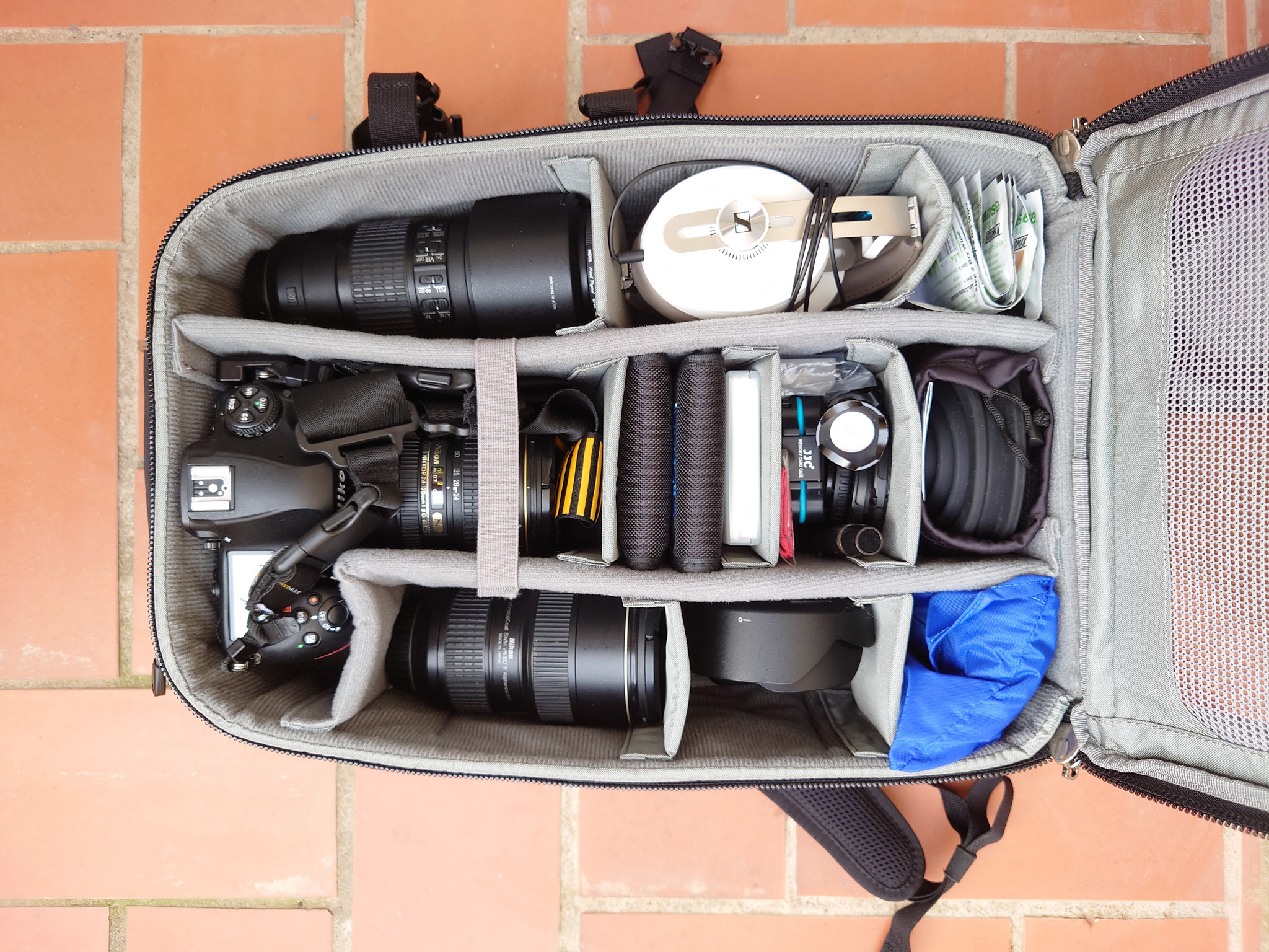 My reviews: Think Tank Photo Airport Essentials camera backpack